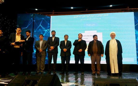 تیم نرم افزاری قرارگاه فضای مجازی بسیج دزفول برتر کشور شد
