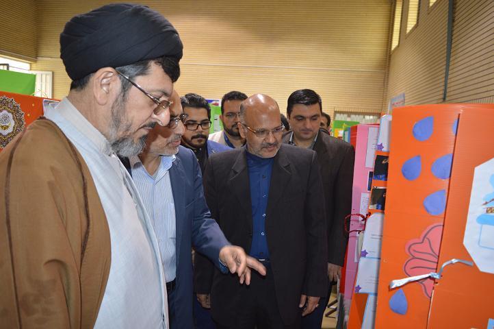 نمایشگاه پروژههای علمی دانشآموزی «طرح جابر بن حیان» در دزفول افتتاح شد