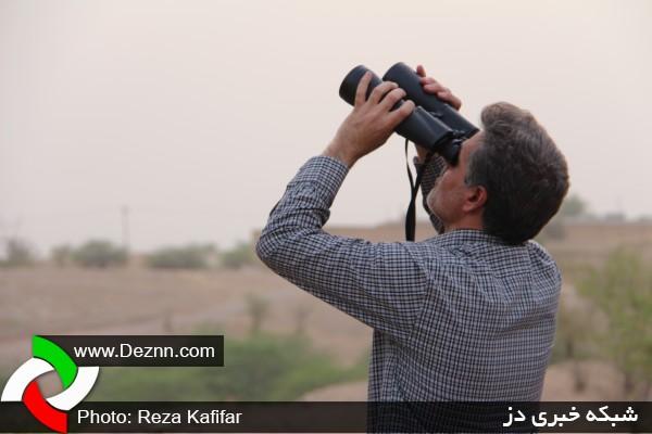 رصد هلال ماه شوال توسط ستاد استهلال شهرستان دزفول