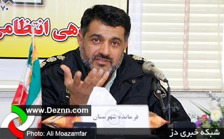 دستگیری کلاهبردار پلیس نما به جرم اخاذی از موبایل فروشان در دزفول