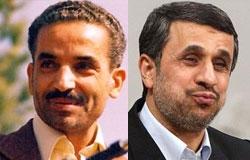 تبلیغات احمدی نژاد باز هم با تصویر شهید رجایی! +عکس