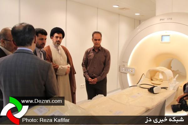 مراسم افتتاحیه مرکز تصویربرداری کوثر MRI دزفول از نگاه دوربین