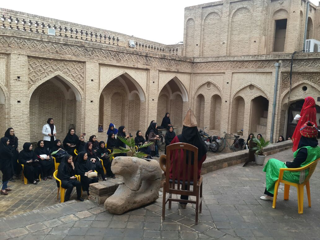 حضور دانشجویان دانشگاه فرهنگیان تربیت معلم در خانه تيزنو + عکس