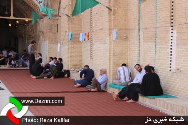 ۴۴مسجد دزفول پذیرای ۴۵۰۰معتکف خواهند بود