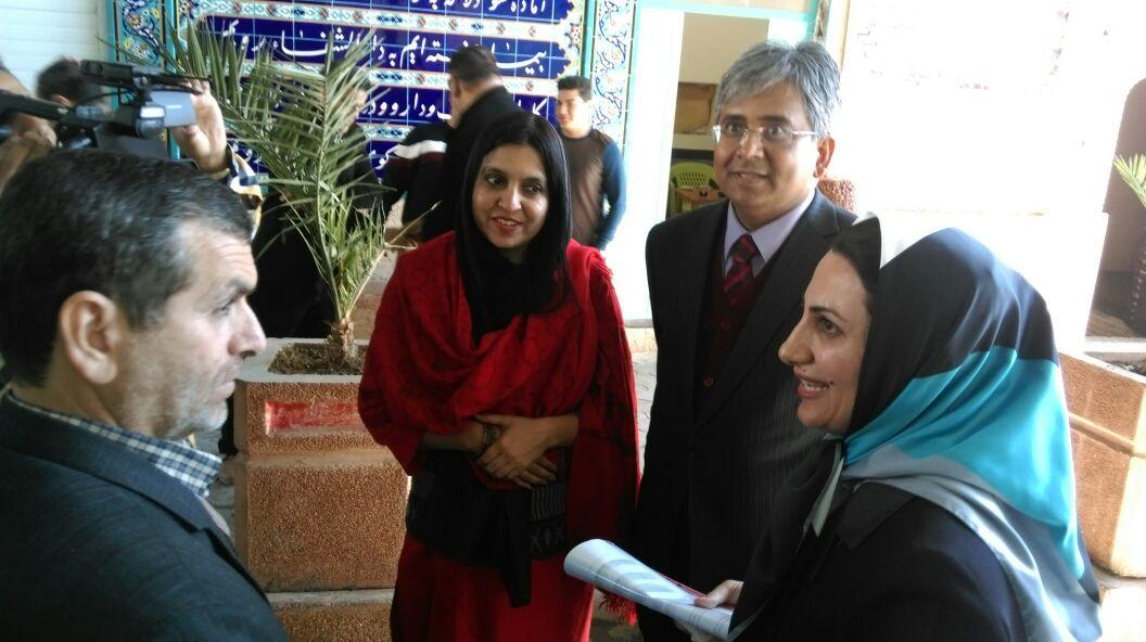 سفیر هندوستان از جاذبه های تاریخی و فرهنگی دزفول دیدن کرد