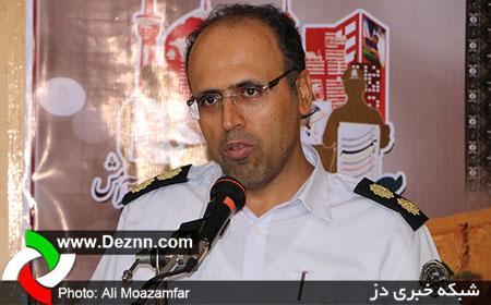 پاسخ رئیس پلیس راهنمایی و رانندگی دزفول در پی انتشار یک تصویر در دز ان ان