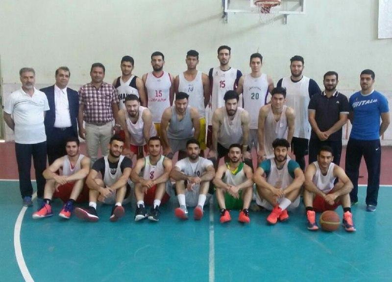 راهیابی تیم بسکتبال دزفول به نیمهنهایی لیگ یک بسکتبال کشور