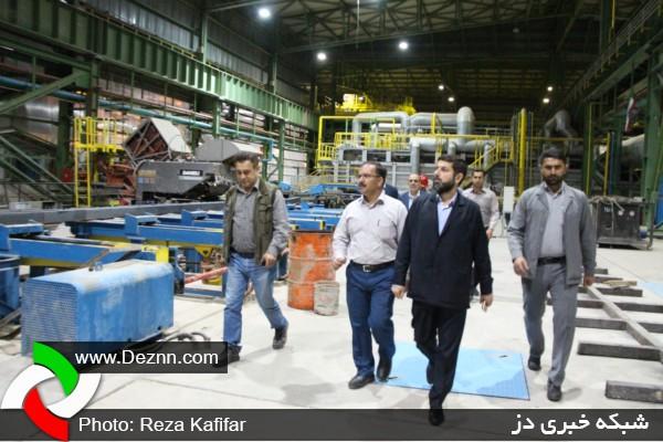 بازدید شبانه استاندار خوزستان از شرکت های صنعتی دزفول از نگاه دوربین