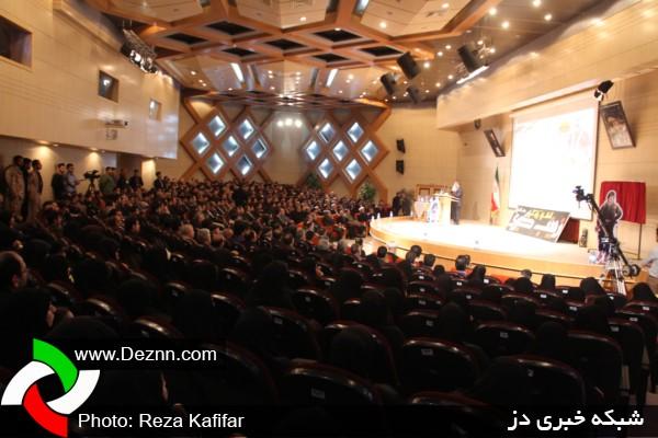 تصاویری از یادواره سردار شهید مدافع حرم حاج علی محمد قربانی در دزفول