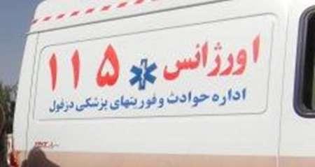 انجام پنج عملیات اورژانس در مناطق صعب العبور دزفول