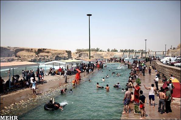 محبوب ترین تفرجگاه ساحلی دزفول بازگشایی شد