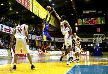 تیم بسکتبال قطران کاوه گرگان در برابر رعد پدافند دزفول پیروز شد