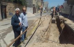 آغاز فاز دوم عملیات لوله گذاری خیابان فردوسی دزفول